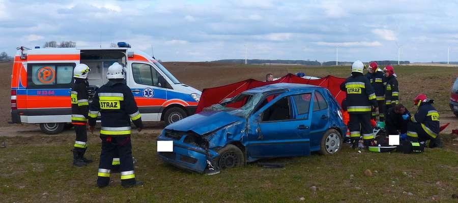 Do tragicznego wypadku doszło na polnej drodze pod Byszwałdem