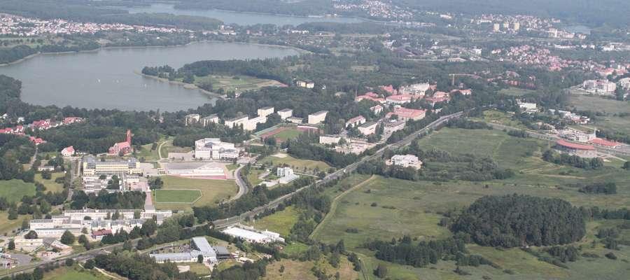 Kortowo — czyściec i kampus