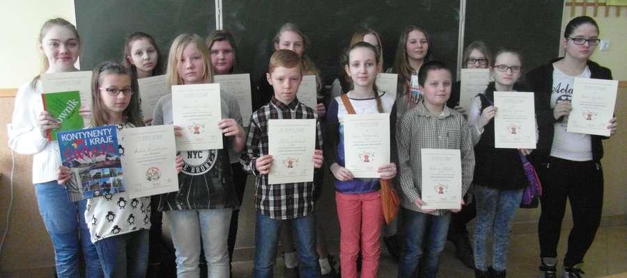 Laureaci konkursu otrzymali nagrody