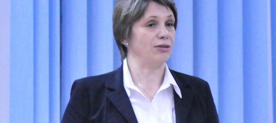 Burmistrz Żuromina Aneta Goliat ma nadzieje, że kara zostanie umorzona
