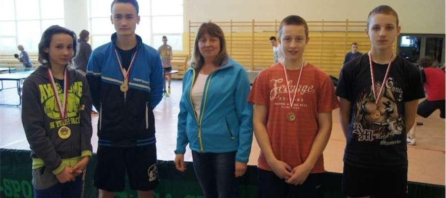 Najlepsi zawodnicy otrzymali medale