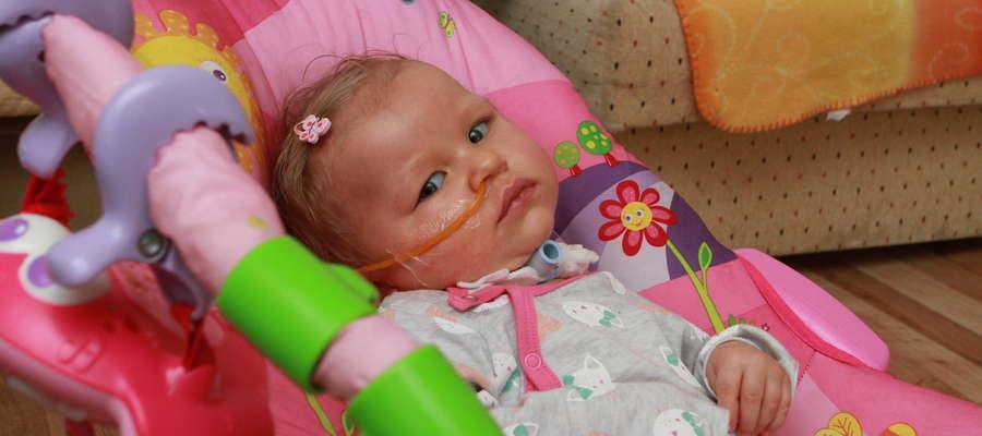 Dzięki naszej pomocy Laura ma szansę na lepsze życie.