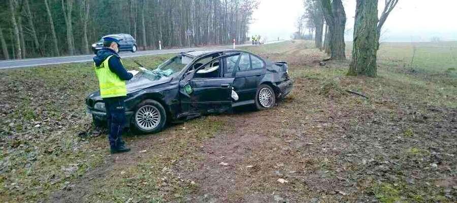 Wypadek w Kraszewie