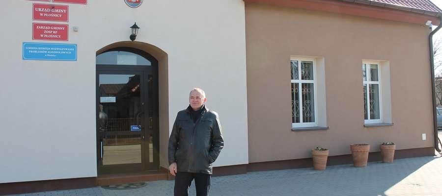 Wójt Krzysztof Groblewski optymistycznie patrzy na możliwości rozwoju Gminy Płośnica