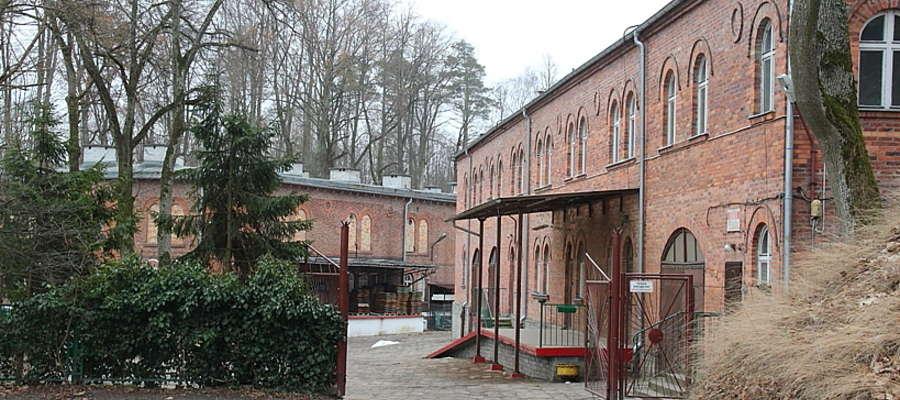 Budynki należące do spółki Serex w Twierdzy Boyen
