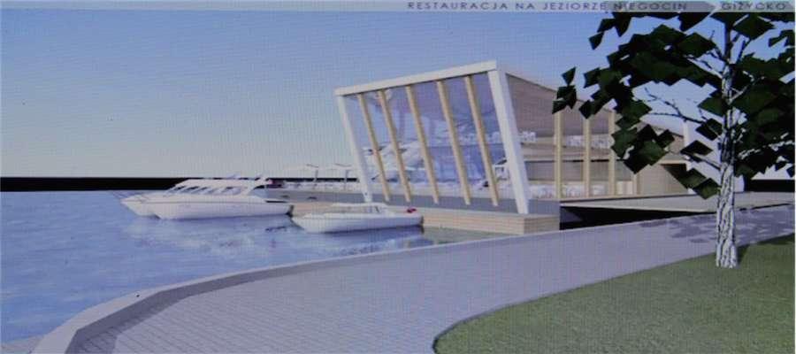 Koncepcja nowej restauracji na wodzie