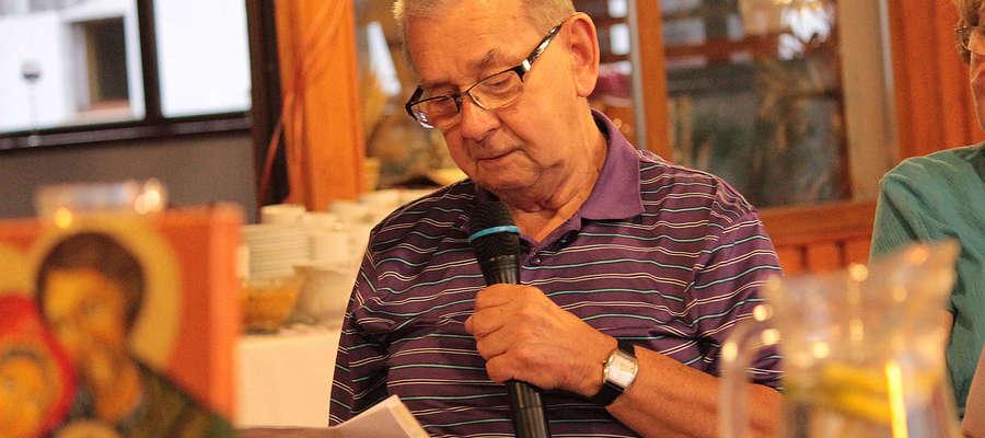 Witold Kiejrys spotka się z czytelnikami 15 marca w ośrodku kultury w Bisztynku.