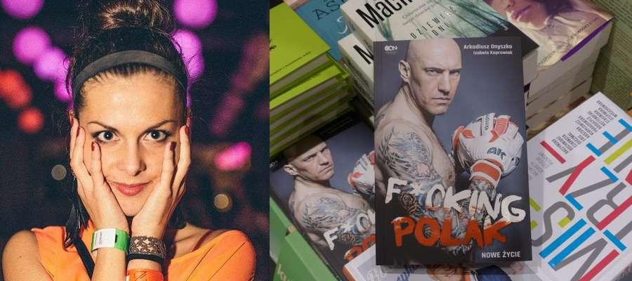 """Książka """"F*cking Polak"""" jest już do kupienia m.in. w iławskim Empiku, z lewej jej autorka Izabela Koprowiak"""