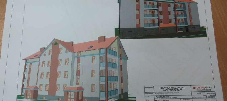 Projekt budynku