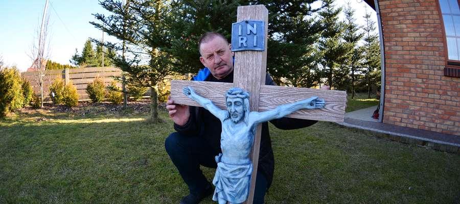 - Krzyż przekażemy parafii w Kalwarii Pacławskiej – mówi Tadeusz Żywica, jeden z pielgrzymów