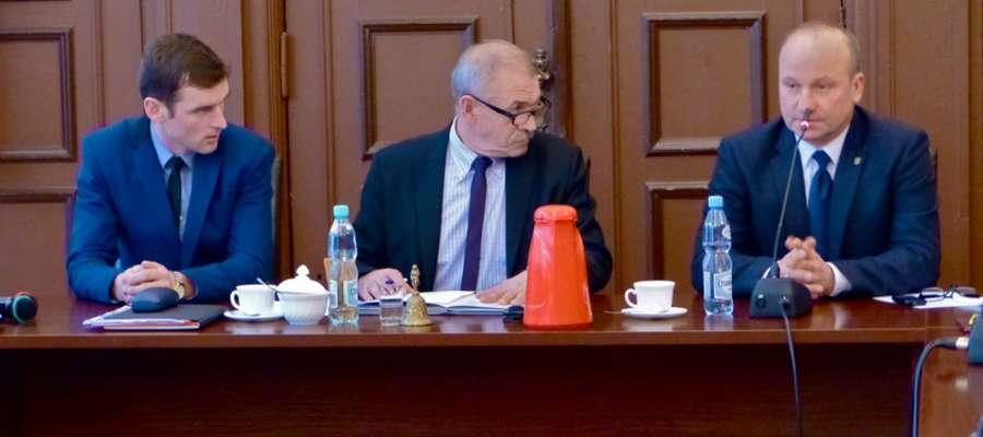Od lewej: Jacek Kiśluk, Zbigniew Lubowidzki, Sławomir Prusaczyk