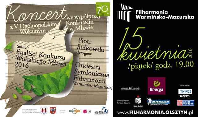 Młodzi śpiewacy i wokaliści w filharmonii - full image