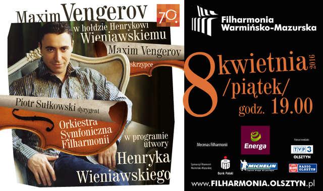 Maxim Vengerov w Filharmonii Warmińsko-Mazurskiej - full image