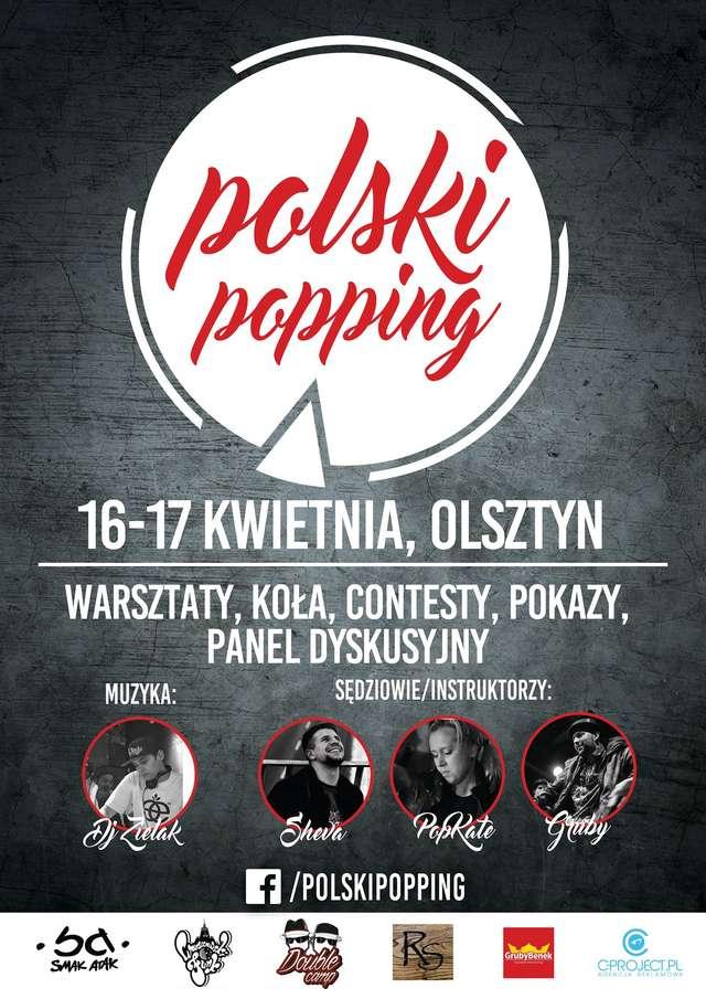 Zawody taneczne i warsztaty. Polski Popping w Olsztynie! - full image