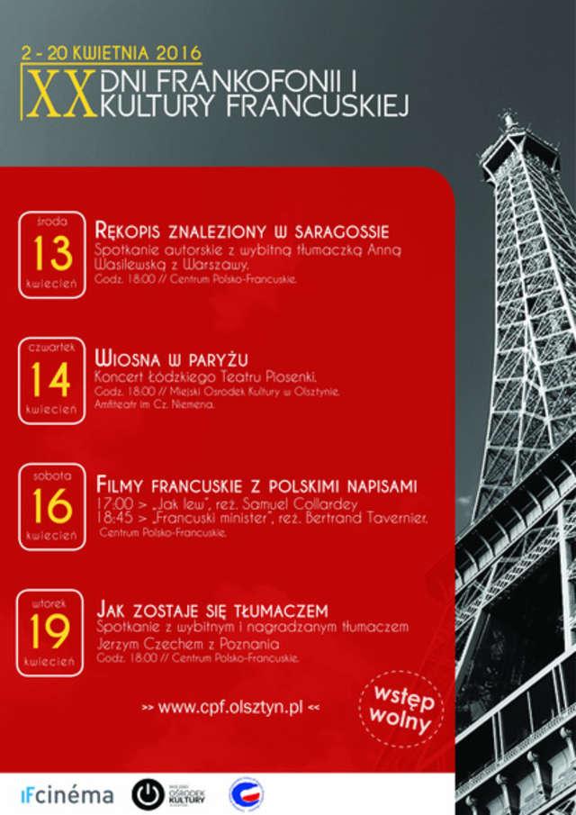 Piaf, Dassin i Zaz na scenie. Trwają Dni Kultury Francuskiej - full image