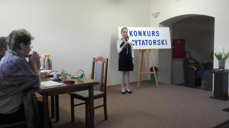 Konkurs Recytatorski Poezji Religijnej Mikołajki