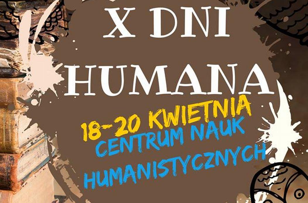 Zobacz program X Dni Humana!