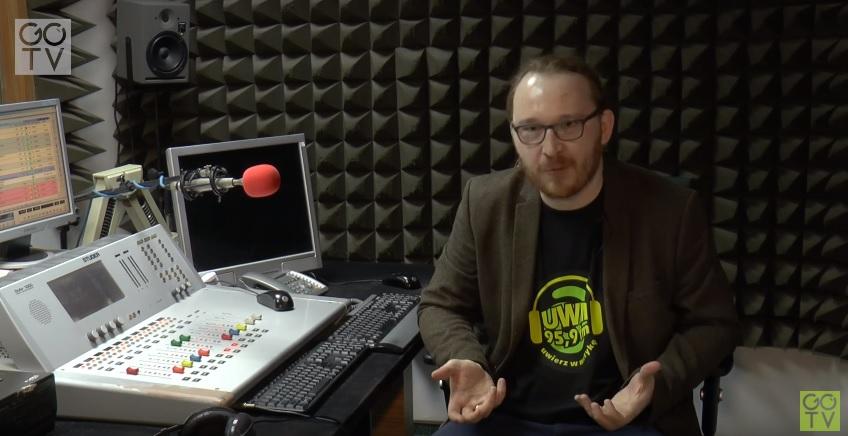 O radiu UWM FM mówi redaktor naczelny Piotr Szauer.