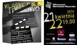 Filmowy koncert w filharmonii