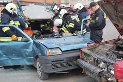 Spokojnie, to były tylko ćwiczenia strażaków z OSP