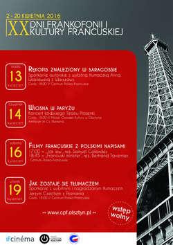Piaf, Dassin i Zaz na scenie. Trwają Dni Kultury Francuskiej