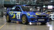 Subaru Impreza WRC, którym ścigał się Hołowczyc i Colin McRae wystawione na sprzedaż