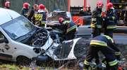 Wypadek na Zientary-Malewskiej w Olsztynie. Dwie osoby ranne