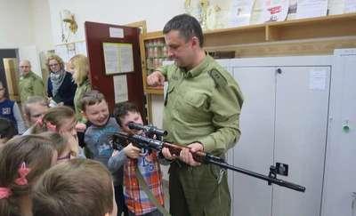 Dzieci poznały służbę w Straży Granicznej