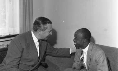 Hasso von Etzdorf jako ambasador w Conacry (Gwinea)