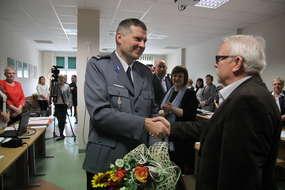 Krzysztof Gąsiorowski przechodzi na emeryturę. Pracą policji w powiecie bartoszyckim kierował przez ostatnie siedem lat