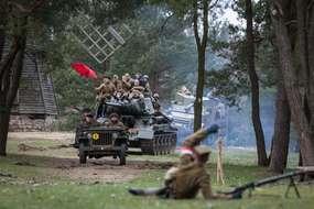 Akcja Burza znów w olsztyneckim skansenie