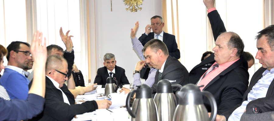 radni 5 głosami przyjęli Plan Inwestycyjny