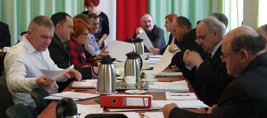 Radni musieli wybrać składy osobowe Komisji