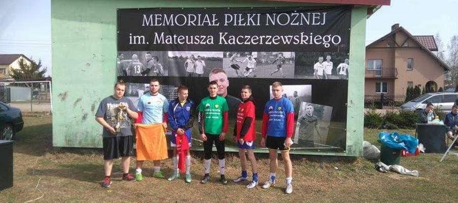 Zwycięska drużyna memoriałowego turnieju