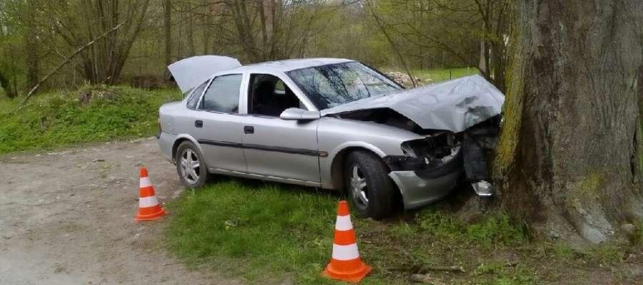 Rozbił auto i uciekł z miejsca wypadku
