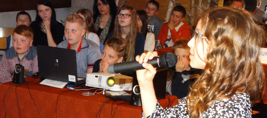 Podczas skarlińskiego karaoke zaśpiewało 14 młodych wokalistów