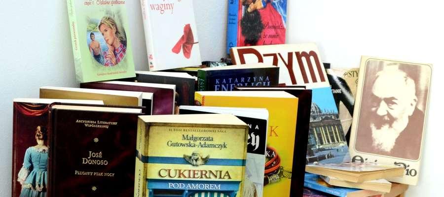 Książki czekają w naszej redakcji