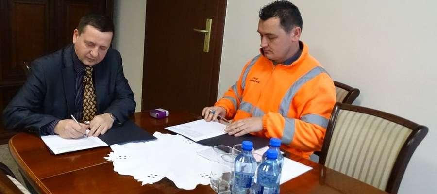 Marek Misztal (z lewej) walczy o reelekcję