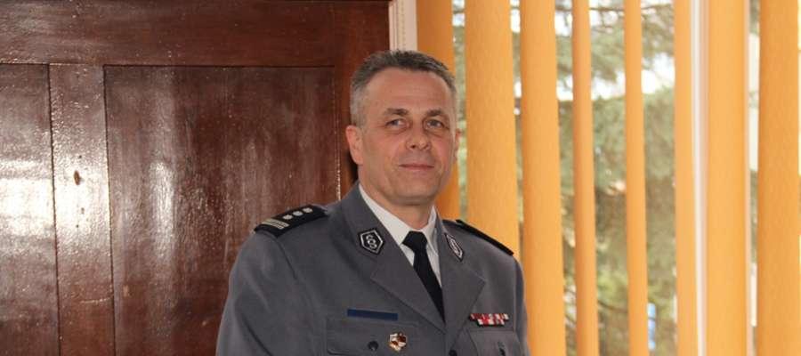 Inspektor Andrzej Mazurek odchodzi na emeryturę