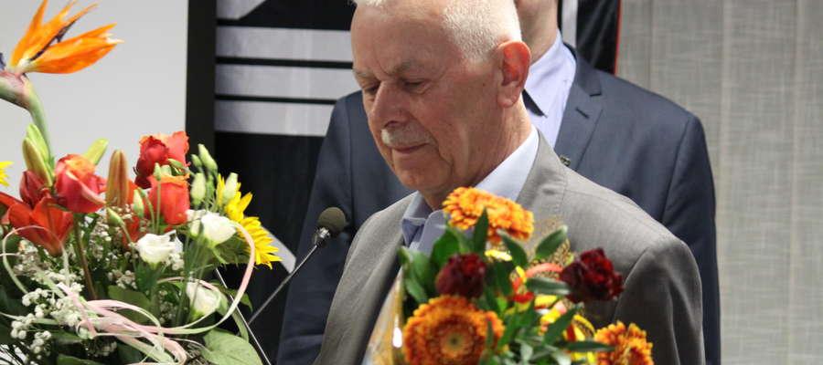 Stanisław Kusy pożegnał się z pracą w Cowiku, gdzie przez wiele lat pełnił funkcję wiceprezesa