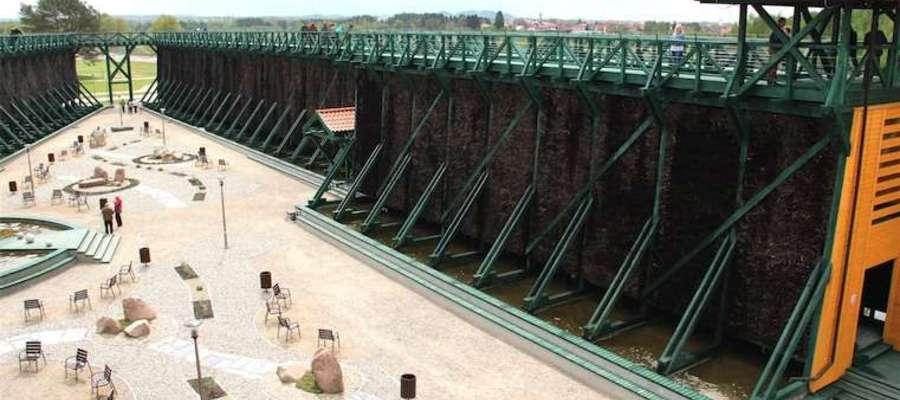 Tężnie solankowe w Gołdapi, jedynym uzdrowisku na WiM