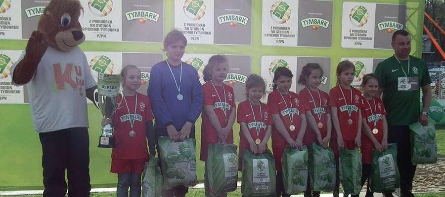 Dziewczynki z Tylic z kategorii U-10