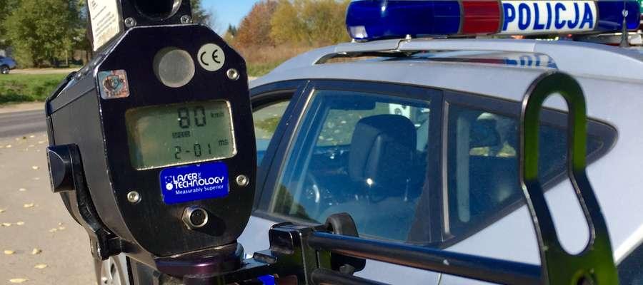 Lidzbarscy policjanci o sytuacji na drogach powiatu