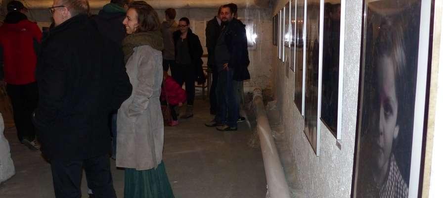 Wystawa odbyła się w Galerii Przestrzeń Gruzownia