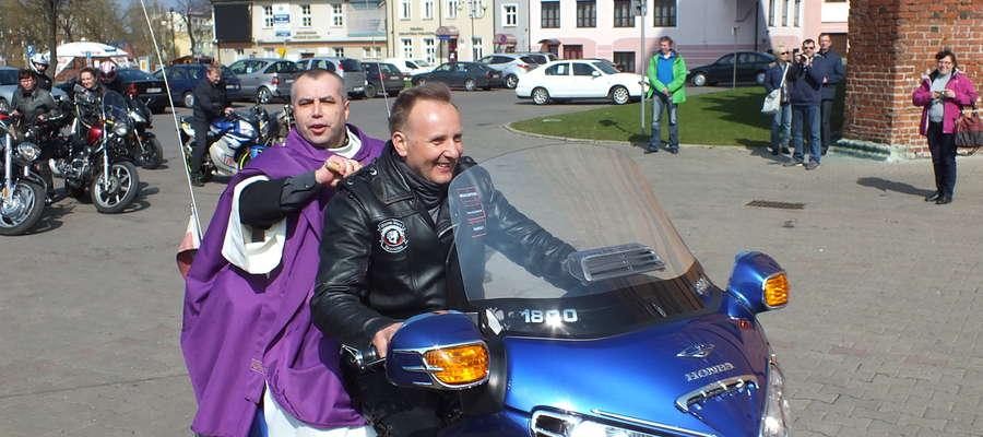 Po mszy świętej nastąpi święcenie motocykli na placu pod Bazyliką Mniejszą