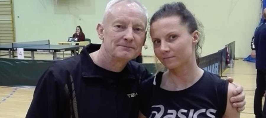 Zenon Kastrau i Emilia Włodarska