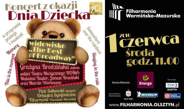 Dzień Dziecka w Filharmonii Warmińsko-Mazurskiej - full image
