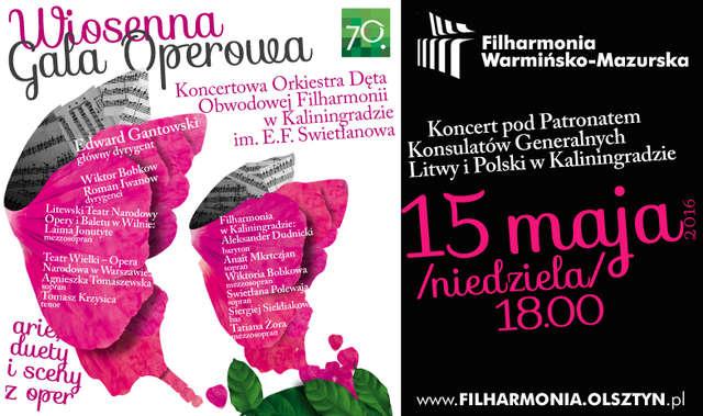 Wiosenna gala operowa w Olsztynie - full image