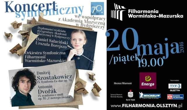 Koncert symfoniczny we współpracy z Akademią Muzyczną w Bydgoszczy - full image
