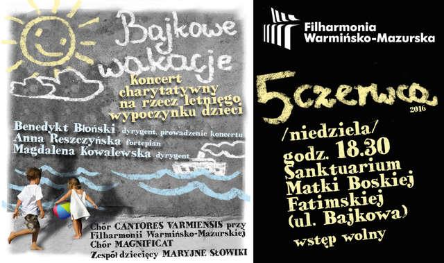 Bajkowy koncert wakacyjny w Olsztynie - full image